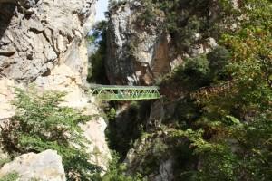 Puente en la Ruta del Cares